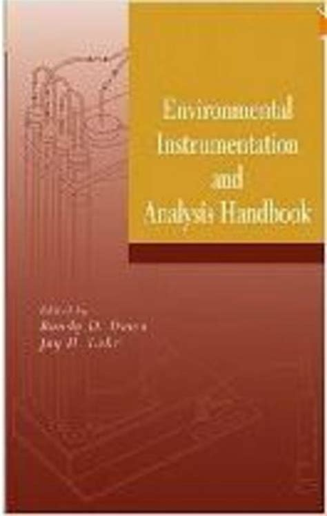Ebook The Science Of Technical Analysis environmental instrumentation and analysis handbook pdf