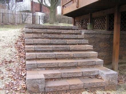 staircase steps s j s landscaping llc s j s