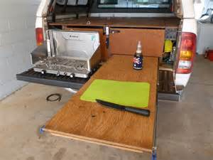 Hilux 4WD Storage Drawers, Fridge Slide and Work Bench