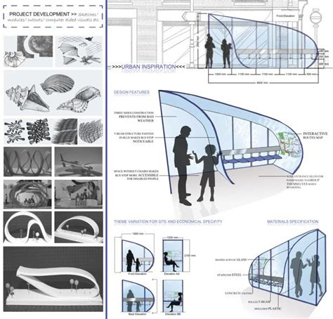 design concept of bus terminal urban inspiration bus stop design for london on behance