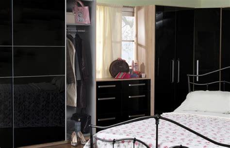 dreams bedroom furniture wardrobes sweet dreams gloss black 2 door wardrobe by sweet dreams