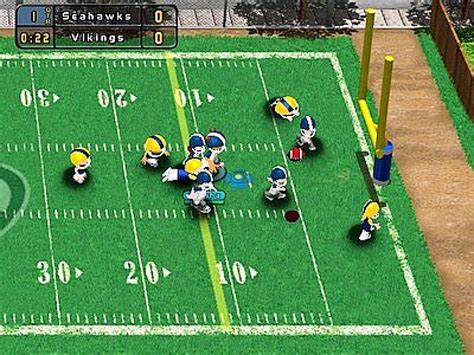 backyard football computer game backyard football 2004 screenshots hooked gamers