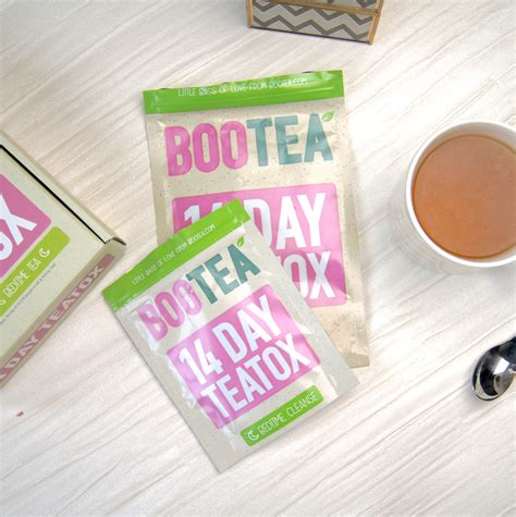 Detox Tea Bootea Reviews by Bootea 14 Day Teatox Review Results Alicegracebeauty