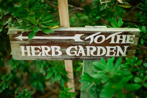 Herb Garden Signs by Herb Garden Sign The Sweetest Occasion The Sweetest