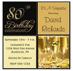 80th birthday invitations templates 22 80th birthday invitation templates free sle