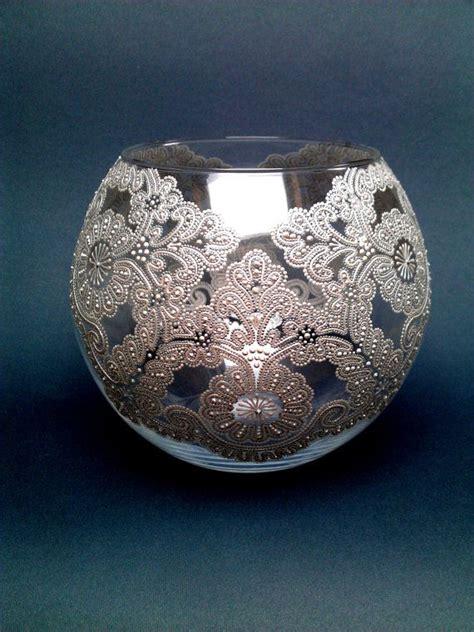 best 25 lace vase ideas on lace centerpieces