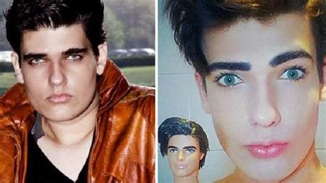human ken doll before and after brazilian human ken doll celso santeba 241 es 20 dies of
