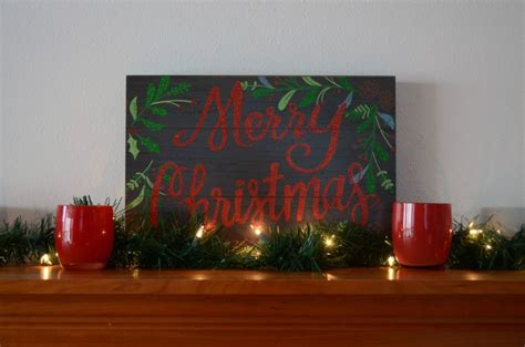 easy christmas mantle decor simply darr ling