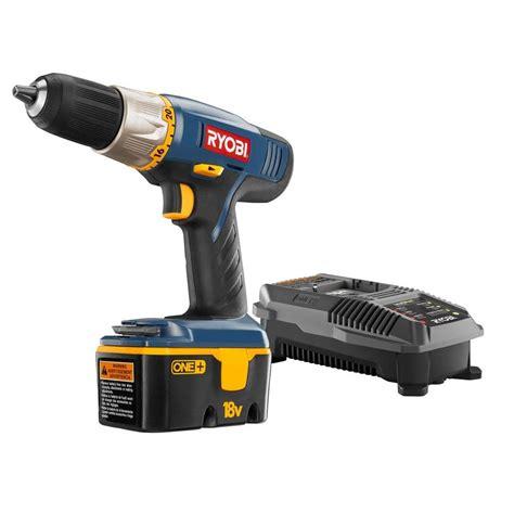ryobi 18 volt one ni cad 1 2 in cordless drill driver