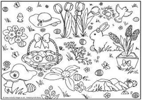 easter coloring pages activity village easter