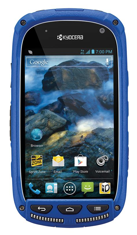 kyocera rugged smartphone kyocera torque rugged android smartphone for sprint blue condition used cell phones
