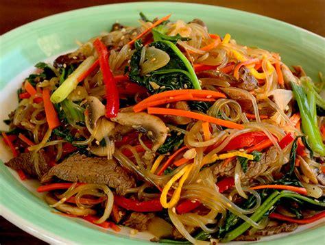Vermicelli Korea Soun Korea 500gr japchae sweet potato starch noodles stir fried with