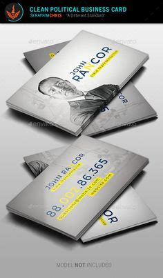 political business card templat 1000 images about templates on program