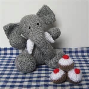 elephant knitting pattern bloomsbury elephant knitting pattern