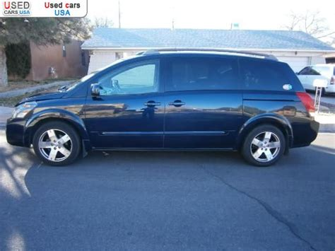 car owners manuals for sale 2006 nissan quest security system for sale 2006 passenger car nissan quest albuquerque insurance rate quote price 8900 used cars