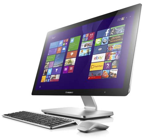 Lenovo All In One lenovo a740 27 inch touchscreen all in one pc