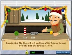 Play gold miner holiday haul online play the free online web