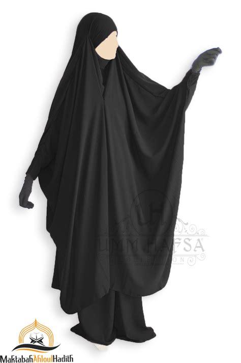 Clip Jilbab jilbab 2 pieces 224 quot jupe quot umm hafsa noir