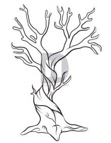 Draw A How To Draw A Dead Tree Step By Step Trees Pop Culture