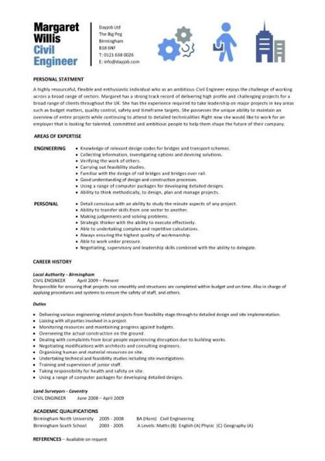 Civil Engineering Resume Sles by Best Resumes For Civil Engineers Best Free Engine Image