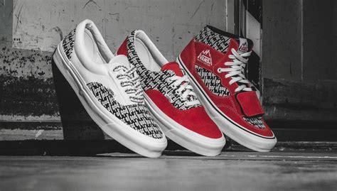 Sepatu Vans Fear Of God fear of god x vans 2017 collection links