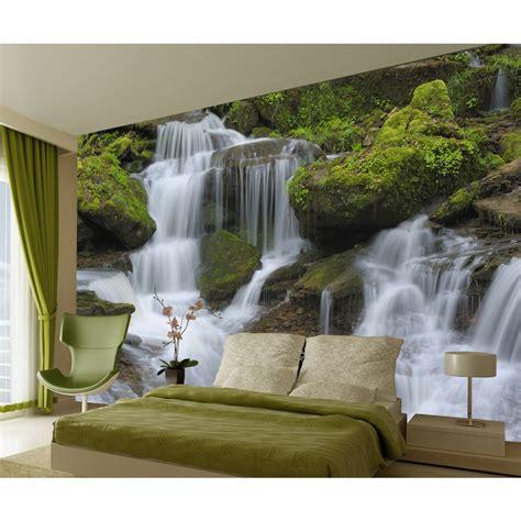 waterfall wallpaper for walls waterfall wall mural w4p waterfall 001 projects