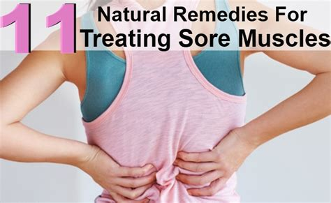 11 best remedies for treating sore muscles