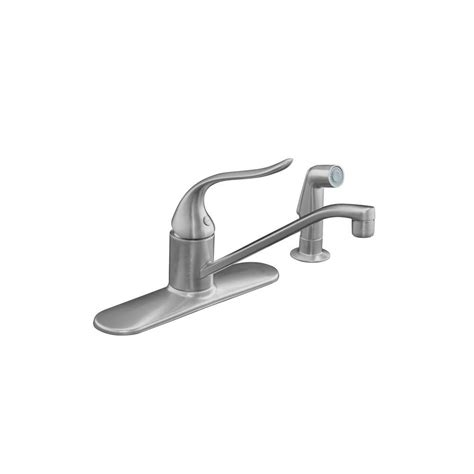 kohler coralais low arc single handle standard kitchen