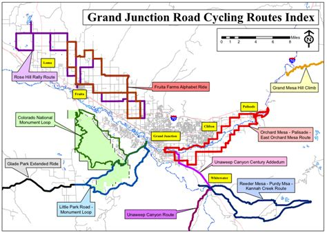 grand junction area 171 coloradobikemaps
