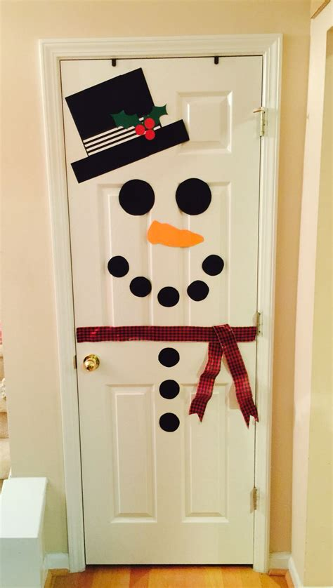 Snowman Door Decorations by 25 Best Ideas About Snowman Door On Pumpkin