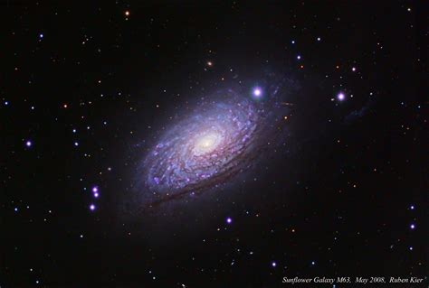 sunflower galaxy apod messier 63 the sunflower galaxy 2017 jul 12