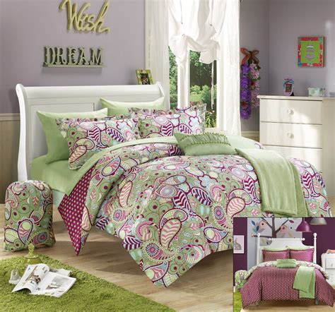 Purple And Green Bedding Sets Total Fab Green And Purple Bedding Sets