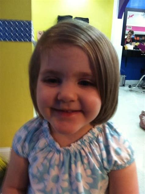 chin lenght hairstyles for childrens chin length bob on a child hair by beverly pinterest