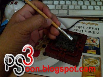 Bga Pembersih Timah Tip Solder Berkualitas 1 cara menggunakan bga framekits stencil ps3 fullset part 2