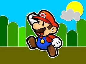 paper mario wallpaper super mario bros wallpaper