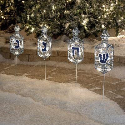 28 best hanukkah outdoor decorations jewish hannukah