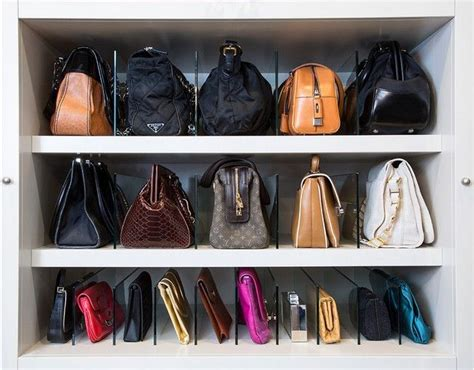 purse closet organizer 25 best purse storage ideas on