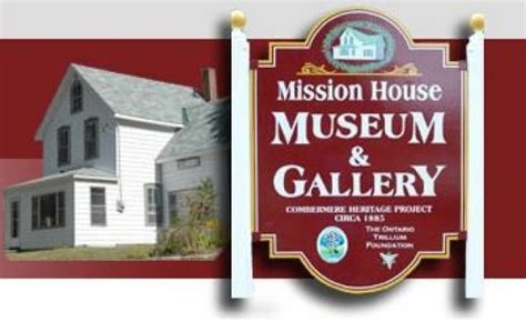 mission houses museum mission house museum and gallery attractions and museums ottawa valley tourist