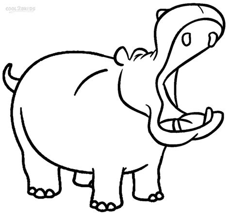 what color are hippos printable hippo coloring pages for cool2bkids