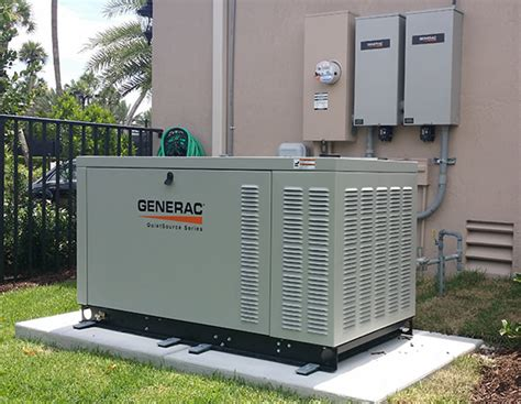 27kw generator installation at azura in boca raton