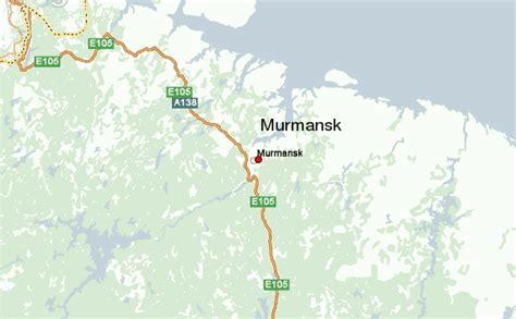 maps murmansk russia murmansk location guide