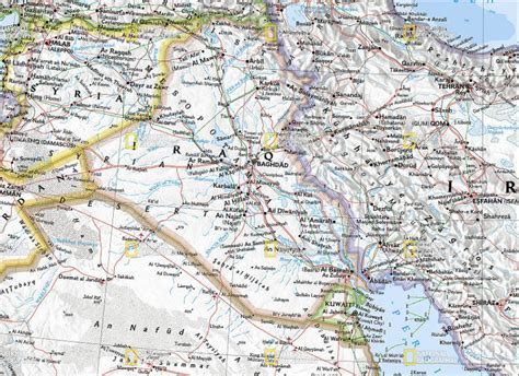 middle east map national geographic the savvy traveller national geographic wall map the