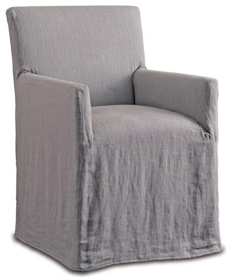 linen slipcover chair terry modern classic natural linen slipcover dining arm