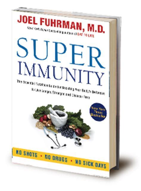 immunity books joel fuhrman m d books