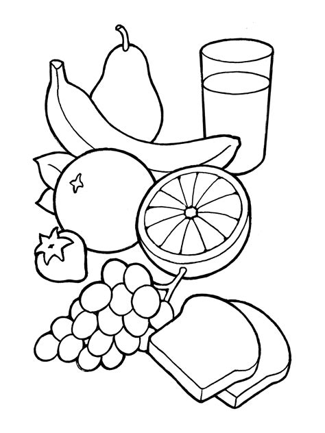 food clipart black and white healthy food clipart black and white 10 clipart
