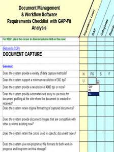 gap report template analysis report template excel for business performance