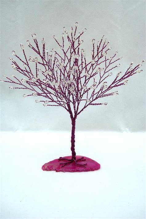 magenta tree of life magenta and white tree wedding cake