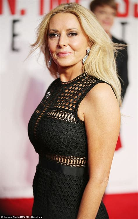carol vorderman attends mission impossible premiere