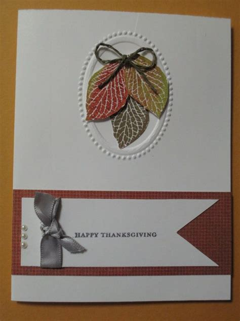 Thanksgiving Cards Handmade - handmade greeting card thanksgiving thanksgiving to