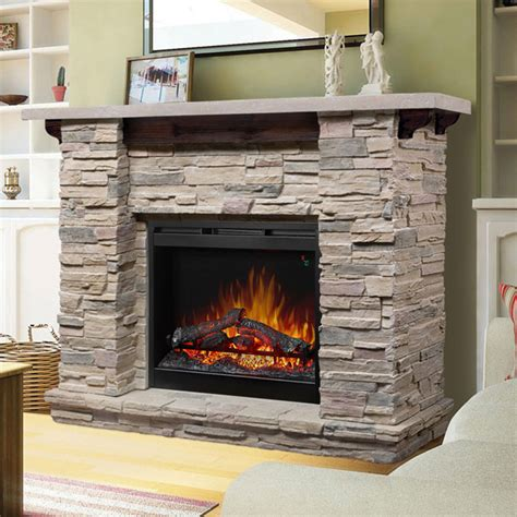 electric fireplaces with mantle featherston electric fireplace mantel package gds26l5 1152lr
